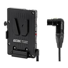 Wooden Camera WC Pro V-Mount (4pin XLR Right Angle)